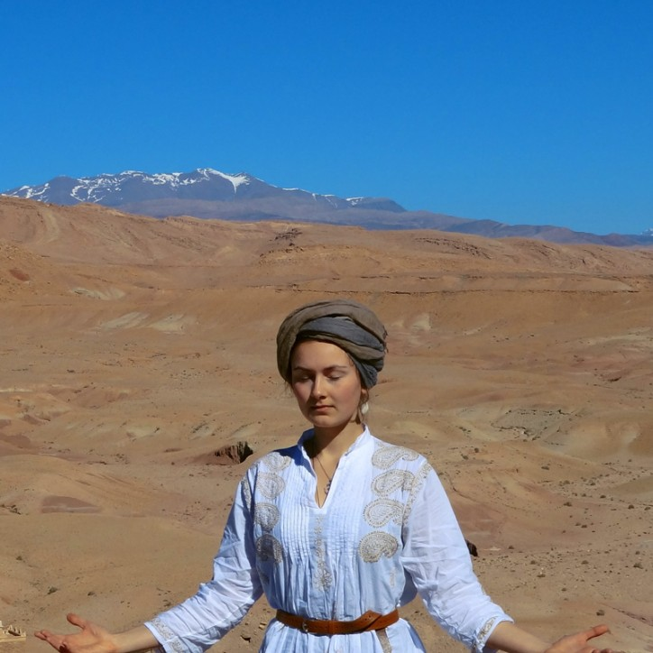 Secret Elements Qi Gong Earth in the Atlas mountains