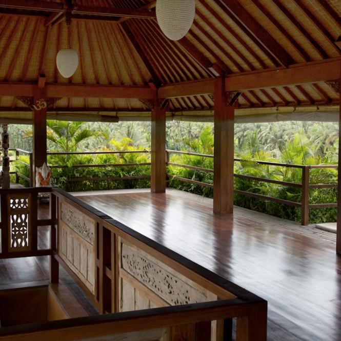Bali Qi Gong retreat training space